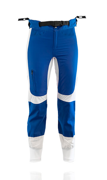 Photo of our freefly pants / trousers. These trousers have been specifically designed for professional skydiving instructors.