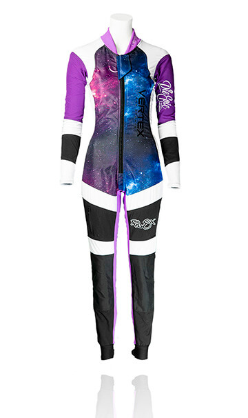 Vertex Sky Sports UK - FLEX WOMENS freefly skydiving suit. The best custom freefly skydive suit.