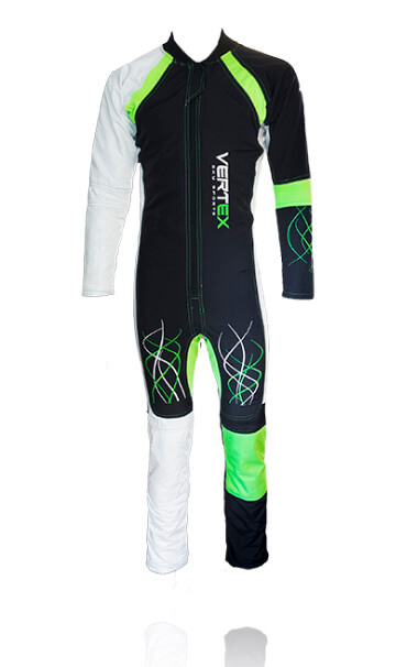 FF pro freefly skydiving suit. Custom freefly skydiving suits sold by Vertex sky sports UK