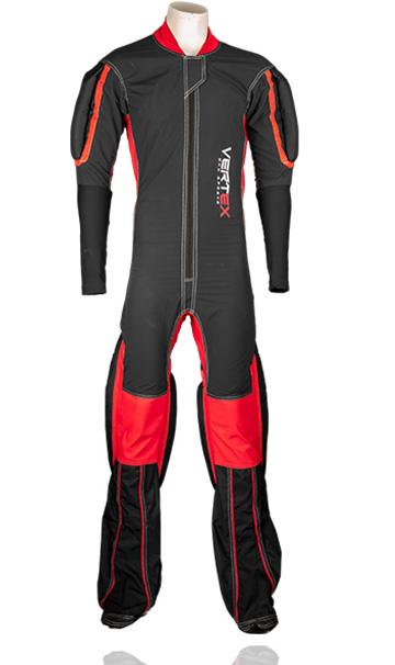 Description of our RW formation skydive / skydiving suit. Made by UK based skydiving company Vertex sky sports